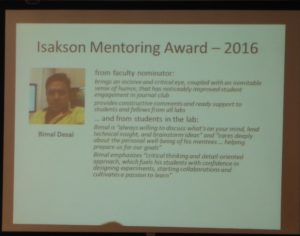 2016retreat-awards-Isakson-Desai