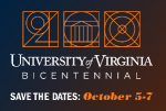Happening this weekend, Oct. 5-7:  UVA Bicentennial Celebration